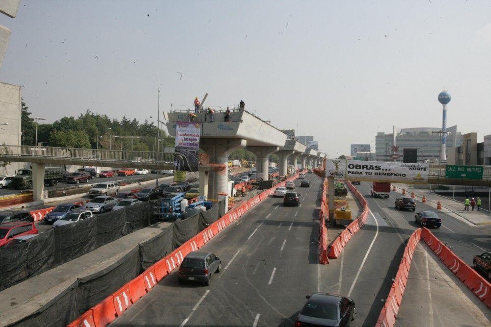 Cerrarán Periférico Norte hoy por obras - Foto de obrasenmiciudad.df.gob.mx