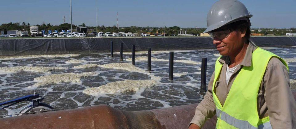 Profepa supervisa Río Pánuco por derrame de hidrocarburo - Foto de OEM