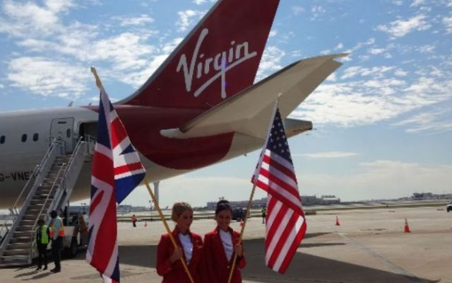 Virgin Atlantic inaugura su primera ruta con el Dreamliner - Foto de USA Today