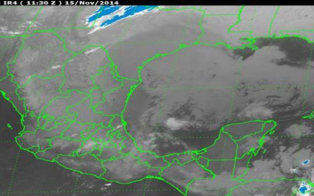 Se prevén lluvias fuertes por frente frío 11 - Foto de Servicio Meteorológico Nacional