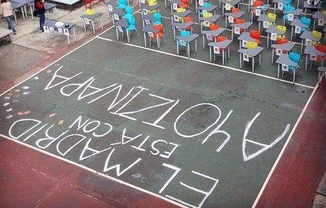 Colegios suspenderán parcialmente clases por marchas - Foto de @lismarybaby