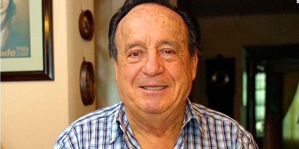 Emilio Azcárraga lamenta el fallecimiento de Chespirito - foto de archivo
