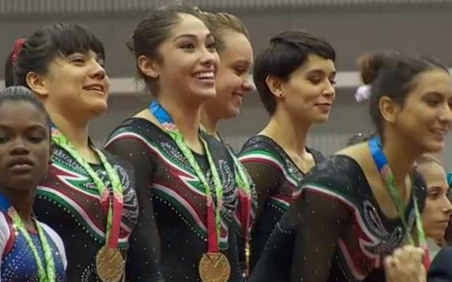 Oro y bronce para México en Gimnasia Artística - Foto de PresidenciaMx