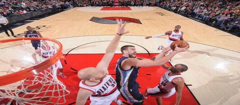 Grizzlies pone fin a racha ganadora de Blazers - Foto de ESPN