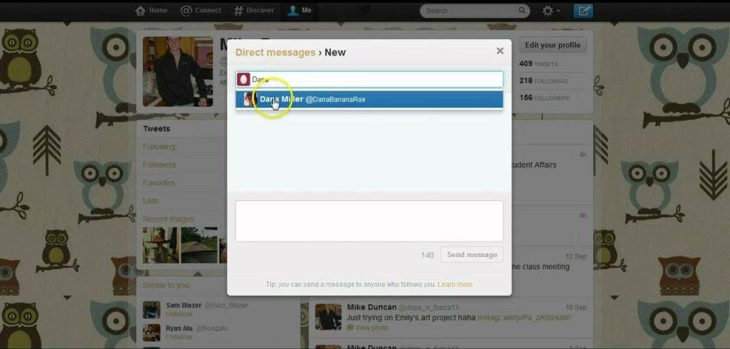 Twitter ya permite enviar links a través de mensajes directos - Internet