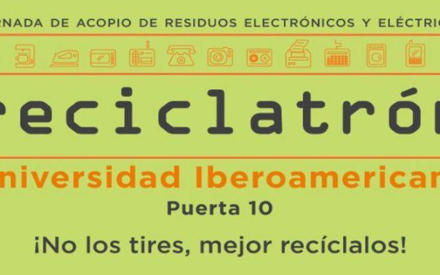 Reciclatón reúne 15 toneladas de residuos electrónicos - Foto de SEDEMA