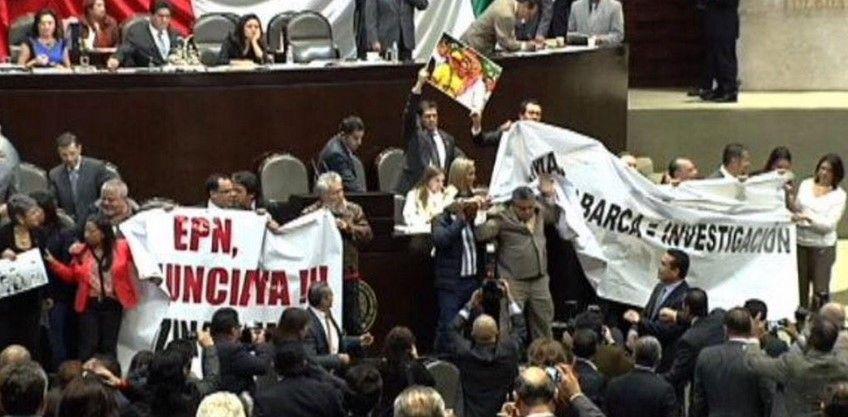 Suspenden sesión en San Lázaro por insultos entre diputados