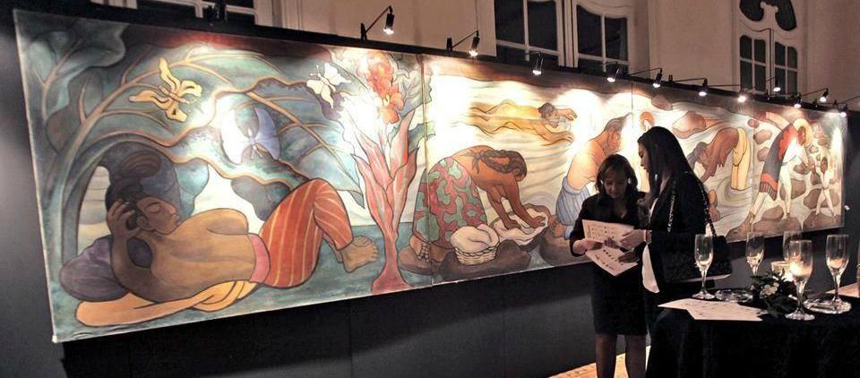 Día de subastas de arte regio en NY - Foto de Reforma