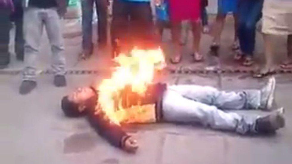 Libre el líder campesino de Chiapas - Foto de Youtube