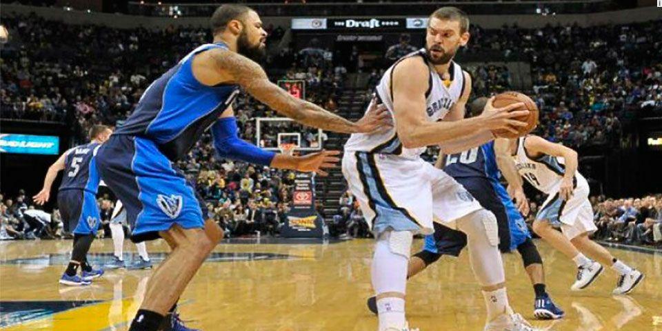 Gasol anota 30 puntos y Grizzlies vencen a Mavs - Foto de ESPN