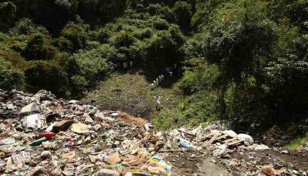 El incendio en el basurero de Cocula sí existió: Murillo Karam - Basurero de Cocula