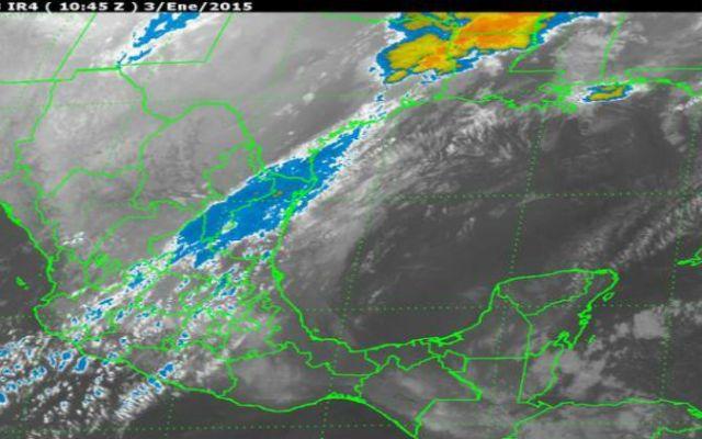 Primera nevada de la temporada afectará a norte de Coahuila y Chihuahua - Foto de Servicio Meteorológico Nacional