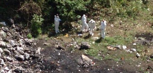 Satélite belga tampoco captó incendio en basurero de Cocula - Fosa en Cocula