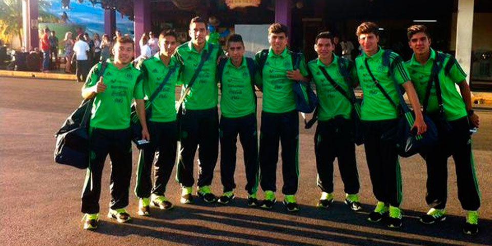 México Sub-20 llega a Jamaica para PreMundial - Foto de @miseleccionmx