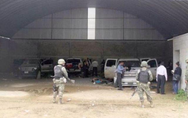 Militares implicados en caso Tlatlaya quedan libres de culpa - Bodega en Tlatlaya