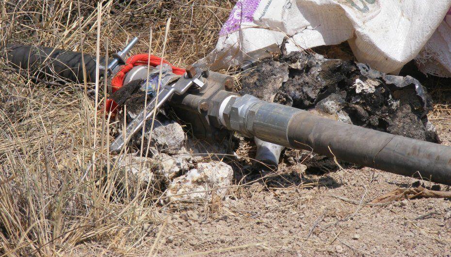 Histórico decomiso de hidrocarburos robados - Toma clandestina
