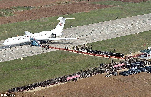 Kim Jong-Un presume avión privado - Kim Jong-Un presume avión privado