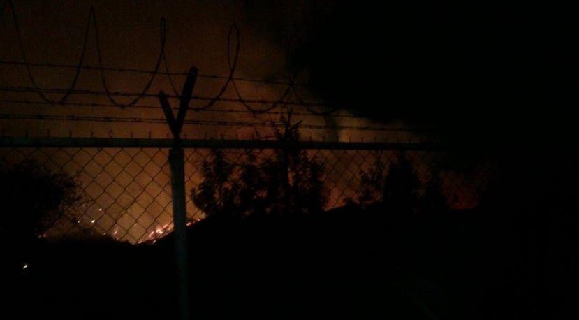 Incendio en el Bosque de Aragón - Incendio Bosque de Aragón