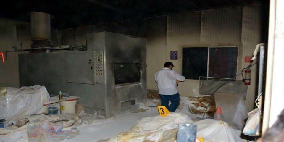 Ya han identificado a 43 cuerpos del crematorio de Acapulco - Crematorio en Acapulco