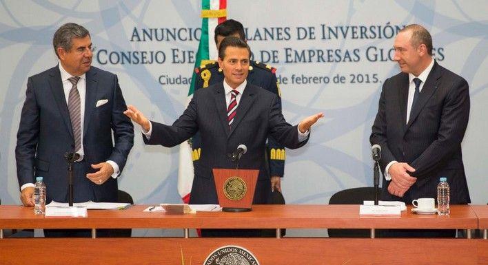 Empresas globales invertirán más de 11 mmdd - Enrique Peña Nieto, presidente de México