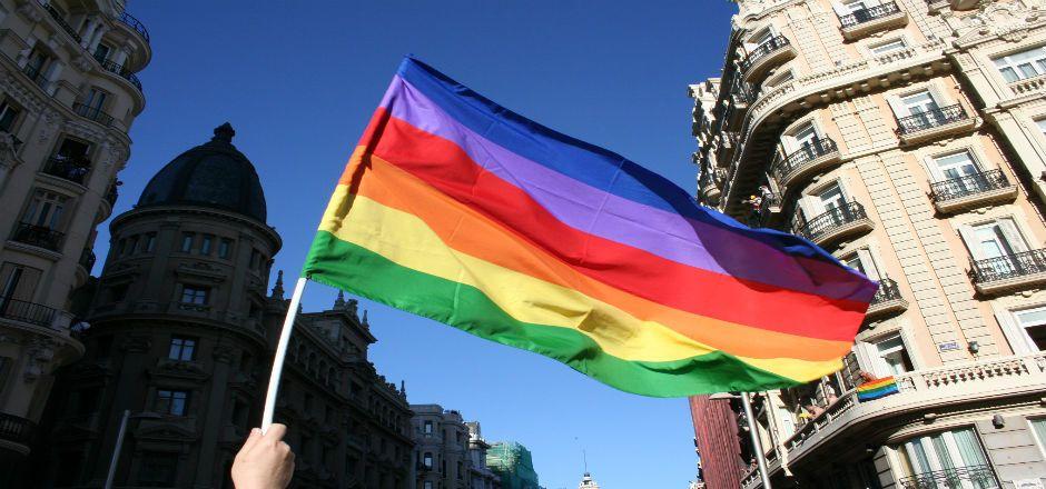 Nombrarán en EU un embajador para personas homosexuales - Bandera lesbico-gay