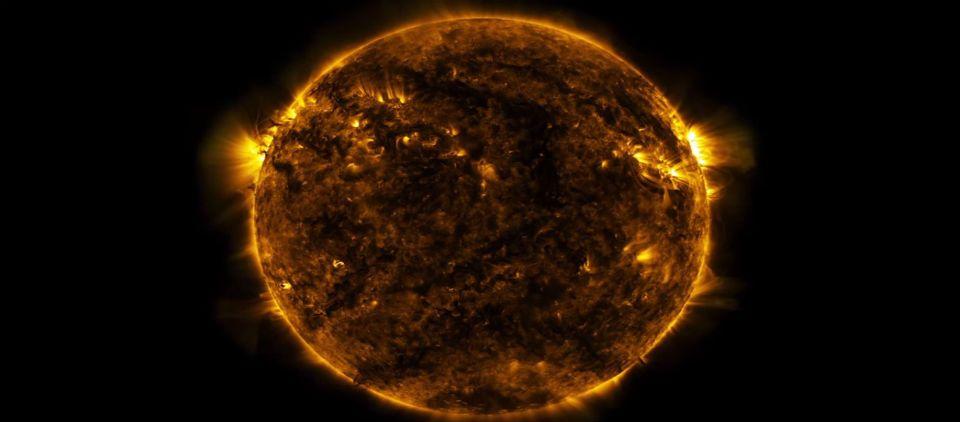 Vídeo muestra un lustro en la vida del Sol - sol video lustro_youtube
