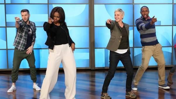 Michelle Obama baila a ritmo de Bruno Mars - Michelle Obama baila a ritmo de Bruno Mars