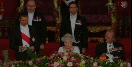Reformas en México fueron audaces e impresionantes: Reina Isabel II - EPN en Reino Unido