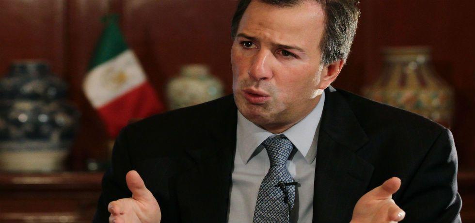Contamos con perfiles muy buenos para el nuevo embajador de EE.UU.: Meade - José Antonio Meade, secretario de Relaciones Exteriores