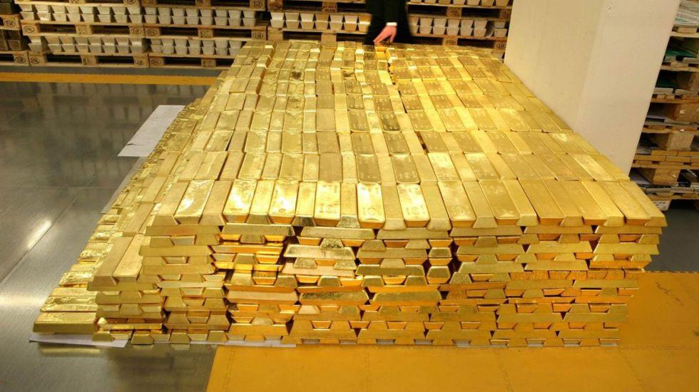 Roban 4.5 kilogramos de oro y plata en Sonora - barras de oro