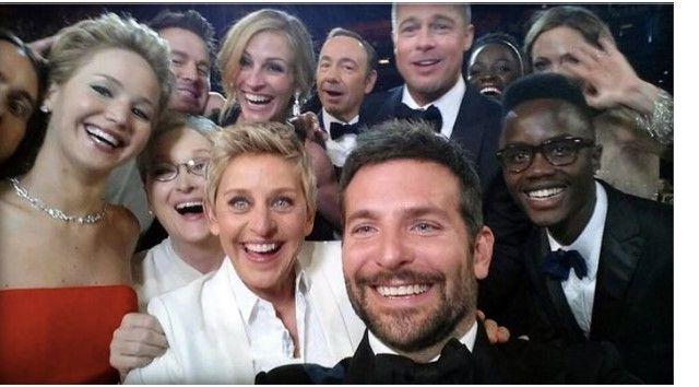 Los mejores tuits de la historia - selfie degeneres
