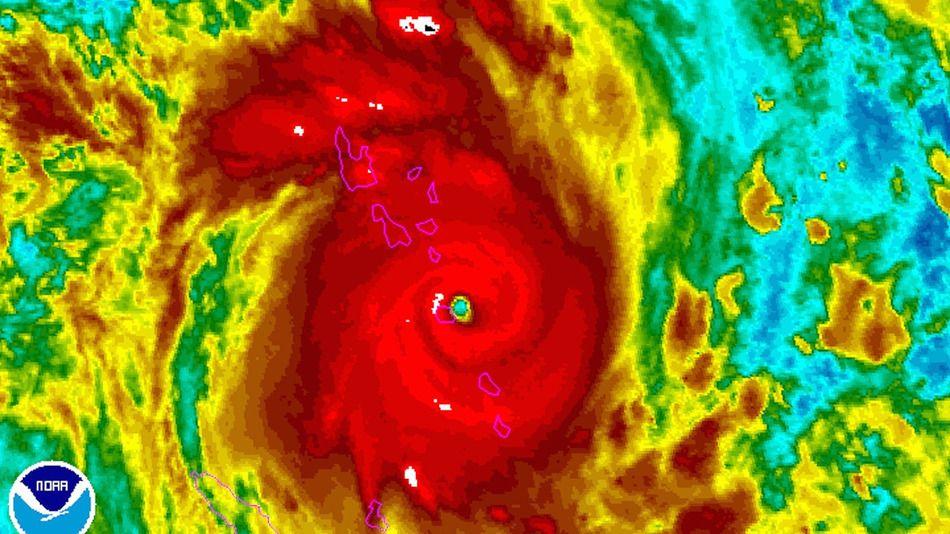 Ciclón de grado cinco amenaza Vanuatu - ciclon