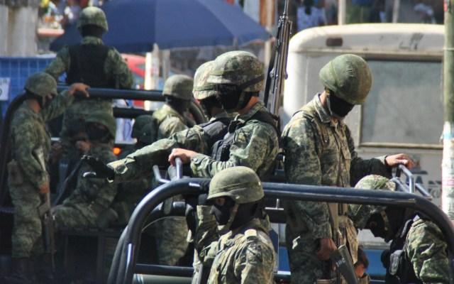 Militares videograbarán todos los operativos que realicen - SEDENA