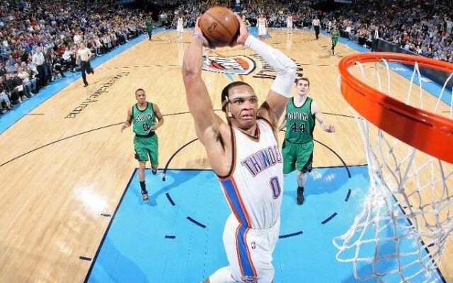 Thunder descarrila a Celtics - thunder celtics