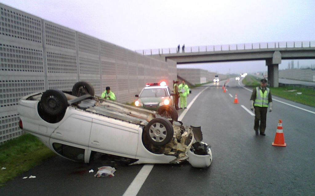 Peatones, la mitad de muertos por accidentes viales en el D.F. - accidente vial