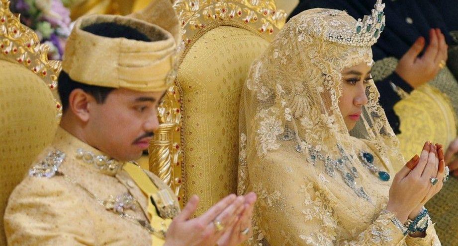 Lujosa boda del príncipe de Brunéi - Boda Brunéi