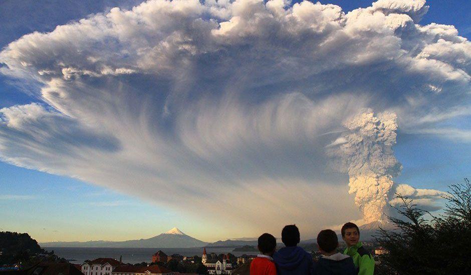 Volcán en Chile hace erupción - Así se ve el Calbuco tras hacer erupción en Chile