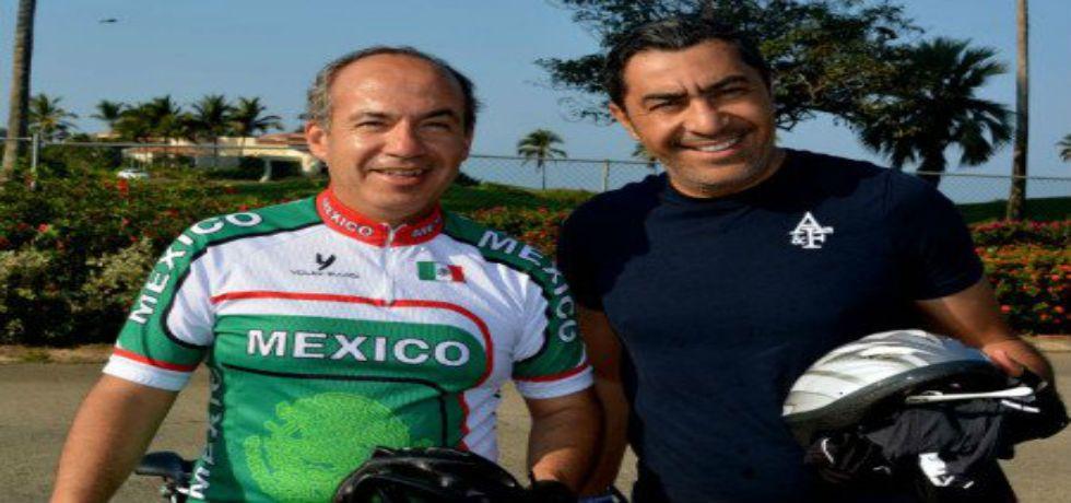 Calderón invita a Guerrero a renovarse - Felipe Calderón y Jorge Camacho