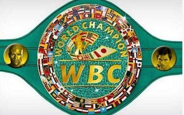 Cinturón de la pelea del siglo es hecho en México - Cinturón de la pelea del siglo