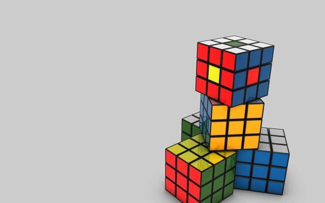 Corto animado fue hecho con mil 296 cubos Rubik - rubik