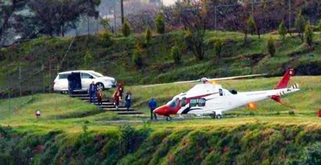 "Reservan información de Korenfeld ""por seguridad nacional"" - David Korenfeld helicóptero"
