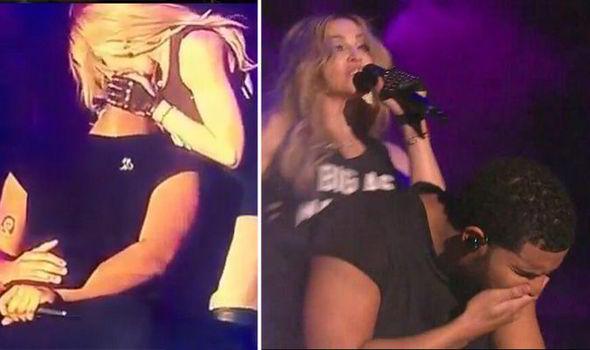 No fue el beso sino el labial de Madonna: Drake - Foto de Express