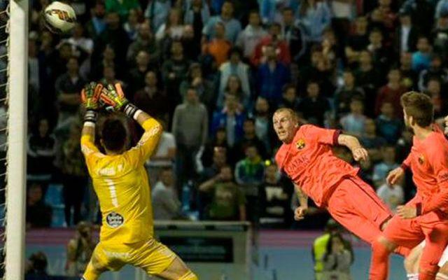 Mathieu salva al Barcelona - Mathieu salva al Barcelona