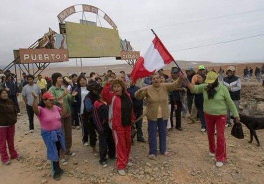 Un muerto durante protesta en contra de Grupo México - Un muerto durante protesta de Grupo México