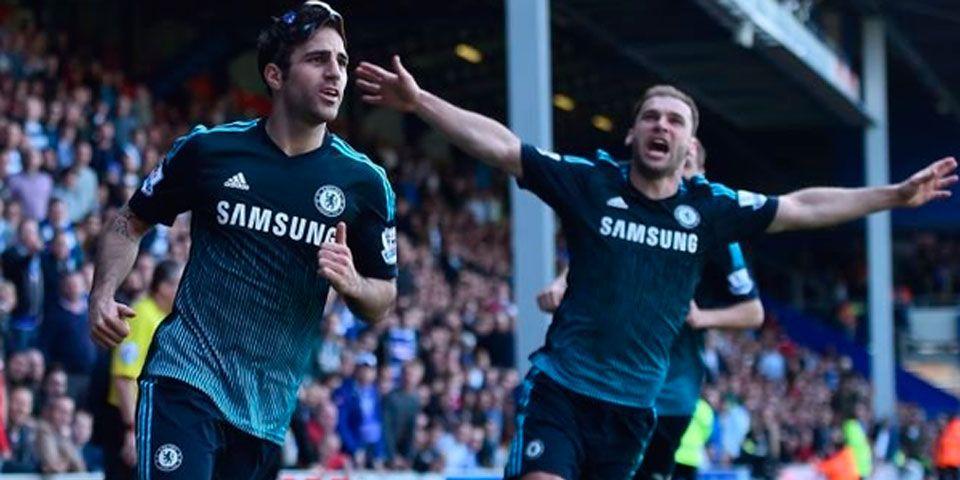 Fábregas le da el triunfo al Chelsea - Fábregas le da el triunfo al Chelsea