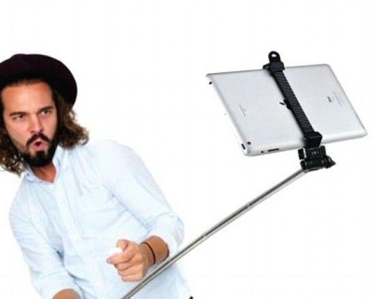 Sale a la venta el Selfie Stick para Tablets - Sale a la venta el Selfie Stick para Tablets