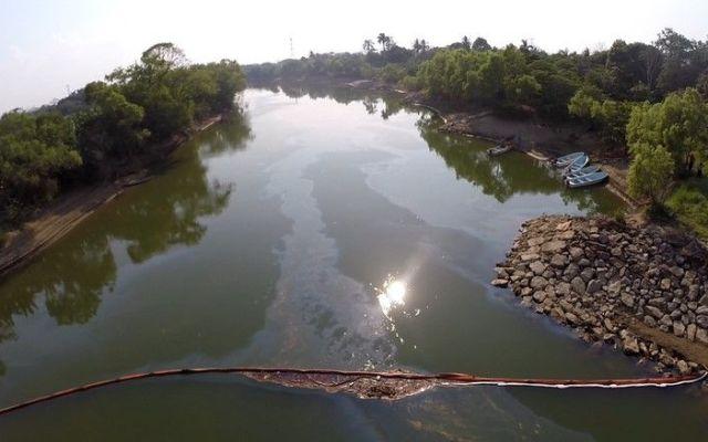 Potabilizadoras reanudan servicio en río Grijalva - Potabilizadoras de Tabasco reanudan servicio en río Grijalva
