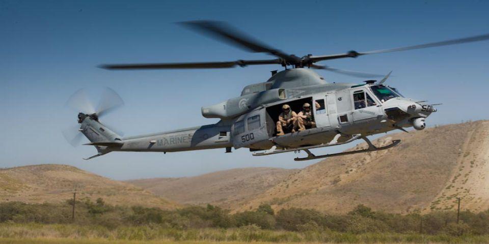 Helicóptero estadounidense se pierde en Nepal - Foto de bellhelicopter.