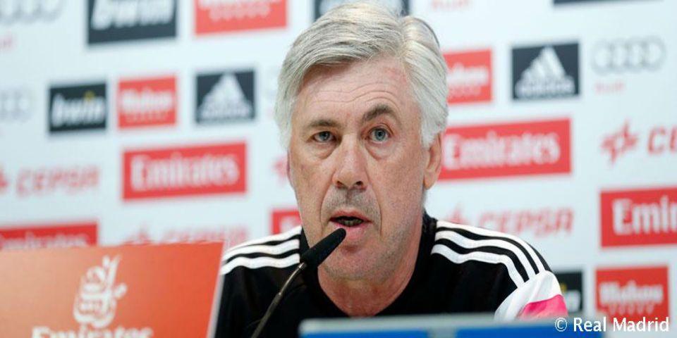 Chicharito sería titular frente al Valencia - Carlo Ancelotti