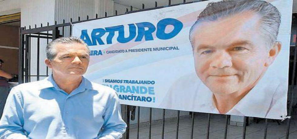 PRI, PAN y PRD gobernarán Tancítaro - Arturo Olivera Gutiérrez, candidato a Tancítaro